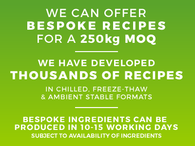 Bespoke recipes, blends of herbs and spices from Bowlander UK