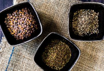 Dried roasted Herbs, Spices and Peppercorns  Bowlander - suppliers