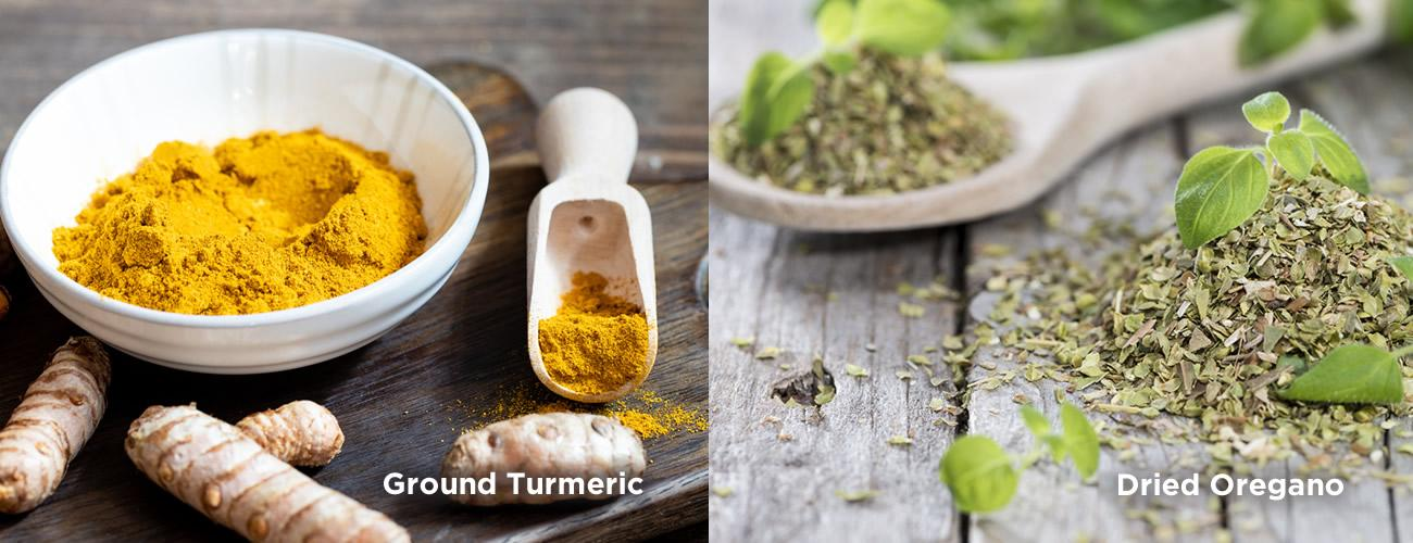 Dried herbs and spices - Bowlander Ingredients for Perfection