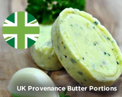UK Provenance Butter portions
